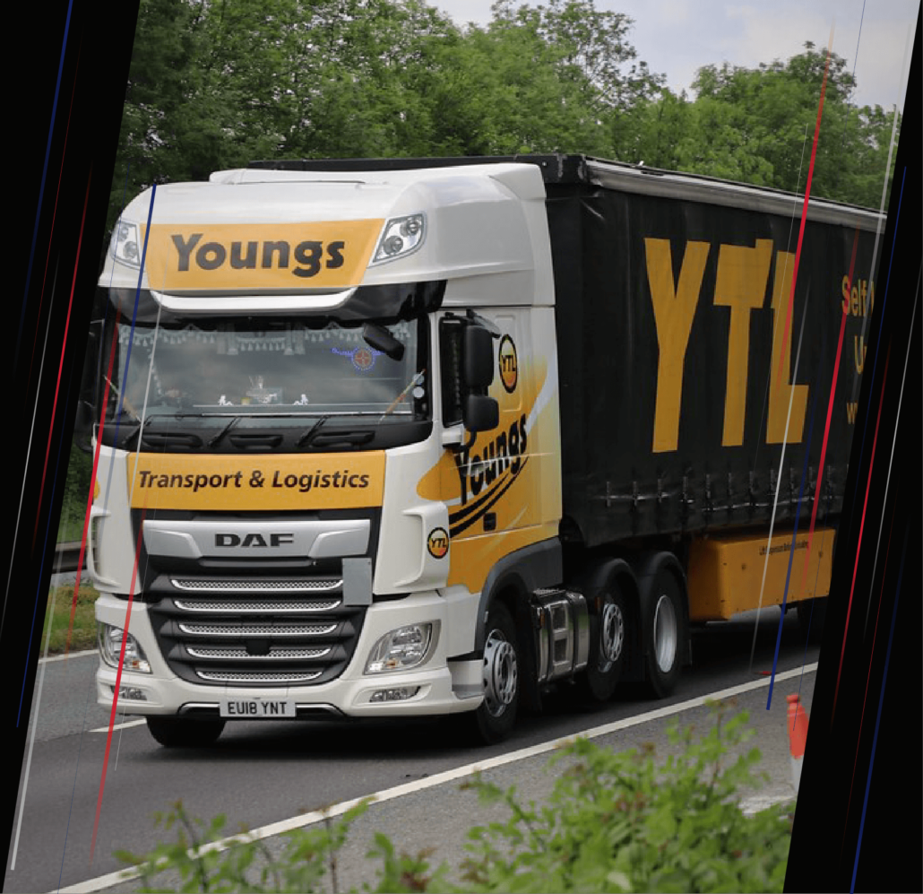 A lorry from Youngs Ltd